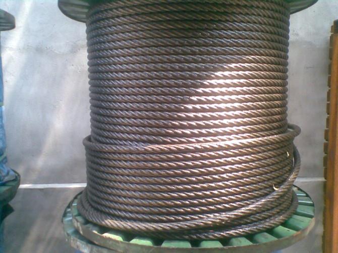 电动hu芦用的钢si绳shi拍图
