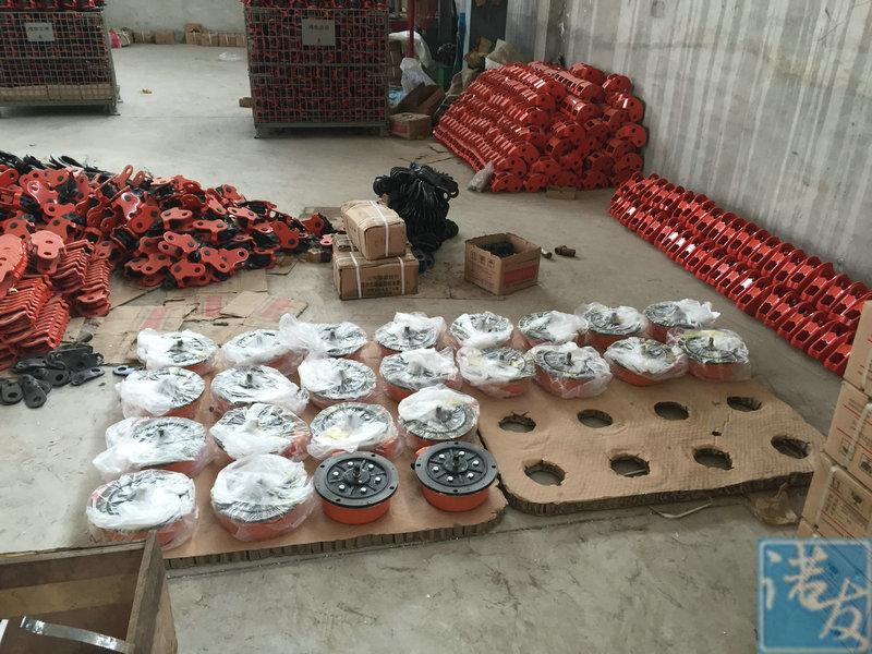 环链电动葫芦生产场景实拍