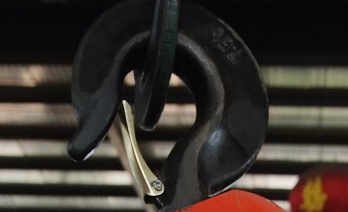 电动葫芦吊钩细节实拍