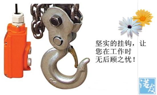 环链电动葫芦的吊钩
